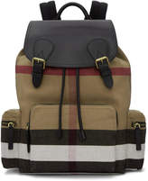 Burberry Tan Large Rucksack