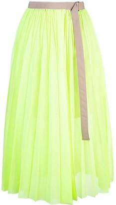 Sacai Belted Skirt