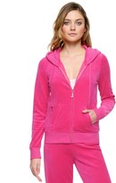 Juicy Couture Outlet - J BLING ROBERTSON ORIGINAL VELOUR JACKET