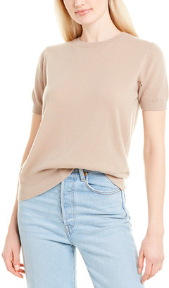 The Row Tati Cashmere & Silk-Blend Top