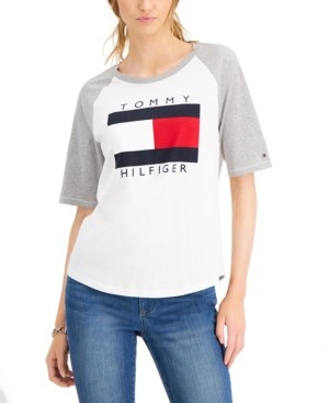 Tommy Hilfiger Logo Baseball T-Shirt
