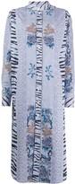Pierre Louis Mascia Jacquard-Effect Shirt Dress