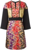 Etro floral jacquard dress - women - Silk/Polyamide/Viscose/Metallic Fibre - 44