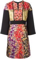 Etro floral jacquard dress