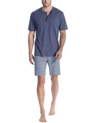 Calida Men's Relax Streamline 1 Pyjama Set,Large