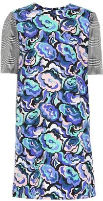 Emilio Pucci Printed silk-blend minidress