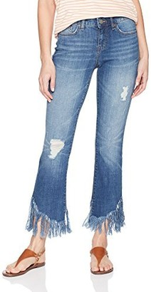 William Rast Women's Crop Flare Jean