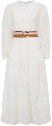 Zimmermann Zinnia Applique Dress