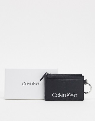 Calvin Klein Jeans coin pouch in black