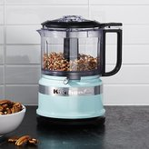 Crate & Barrel KitchenAid ® Ice Blue 3.5 Cup Food Chopper