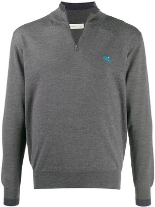Etro Logo Embroidered Pullover
