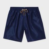 Paul Smith Men's Navy Long Swim Shorts