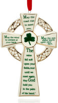 Kurt Adler Porcelain Irish Cross Ornament