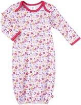 Zutano Violetta Gown (Baby) - White-6 Months