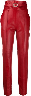 Alexandre Vauthier High-Rise Skinny Trousers