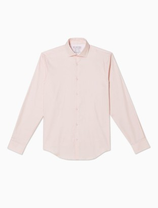 Extra Slim Fit Solid Temperature Regulation Dress Shirt