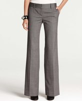 Ann Taylor Modern Herringbone Trousers