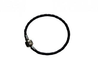 Pandora Black Leather Bracelets