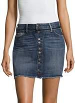 True Religion Women's Deconstructed Step Hem Skirt