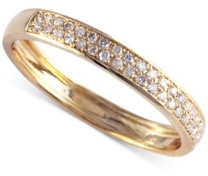 Effy Diamond Band (1/5 ct. t.w.) in 14k Yellow Gold