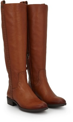 Prina Leather Riding Boot