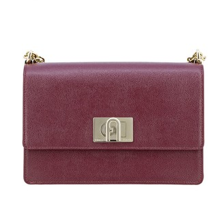 Furla Crossbody Bags Ares Shoulder Bag In Textured Leather