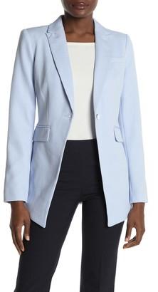 Calvin Klein One Button Twill Jacket