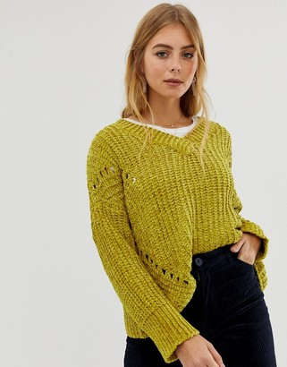 Raga Kori supersoft knit jumper-Yellow