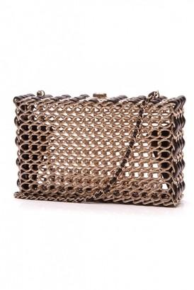 Chanel \N Gold Metal Clutch bags