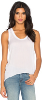 James Perse High Low Soft Woven Tank
