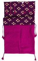 Bonpoint Tassel Accented Stroller Blanket