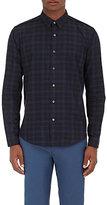 Theory Men's Benner Gasden Cotton Shirt-BLACK