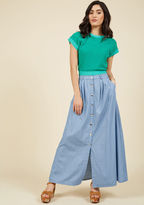 ModCloth Ensemble Ingenuity Maxi Skirt in S