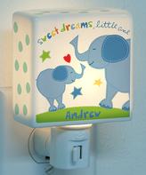 Sandra Magsamen Personalized Boy Elephant Night-Light