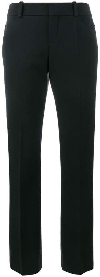 Chloé cropped straight leg trousers