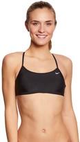 Nike Women's Solids Racerback Sport Bra Swimsuit Top 8148616