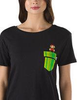 Vans Nintendo Mario Warp Pocket T-Shirt