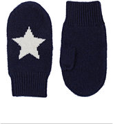 Barneys New York STAR CASHMERE MITTENS
