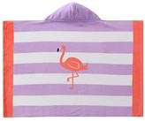 Pottery Barn Kids Flamingo Stripe Baby Beach Wrap
