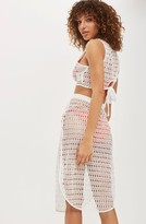 Topshop Women's Lace Cover-Up Skirt