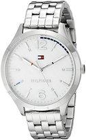 Tommy Hilfiger Women's 1781546 Casual Sport Analog Display Quartz Silver Watch