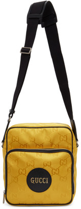 Gucci Yellow Off The Grid Messenger Bag