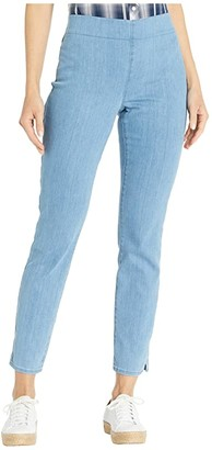 NYDJ Pull-On Skinny Ankle Jeans with Side Slits in Belle Isle (Belle Isle) Women's Jeans