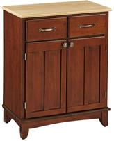Home Styles Buffet - Cherry/Stainless Steel