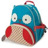 Skip Hop Blue & Red Zoo Owl Backpack