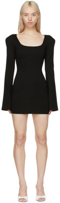 ATTICO Black Liz Mini Dress