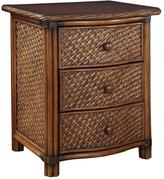 Home Styles Marco Island 3-Drawer Nightstand