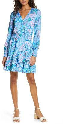 Lilly Pulitzer Christiana Long Sleeve Dress