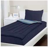 Zipit Bedding Navy Blue Reversible Bed-In-A-Bag Set