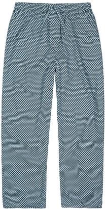 Derek Rose Ledbury geometric-print cotton pyjama trousers